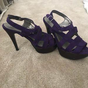 Purple heels 💜 size 8